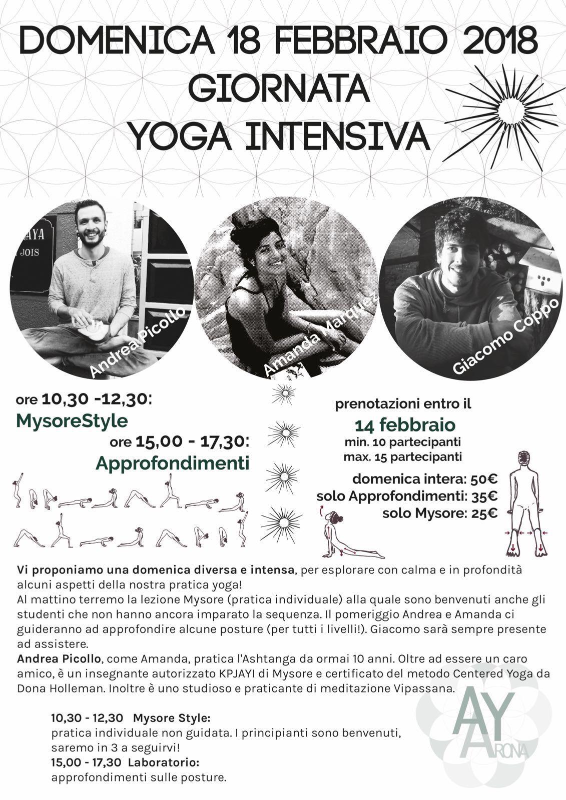 Apiyoga Arona Ashtanga Yoga workshop