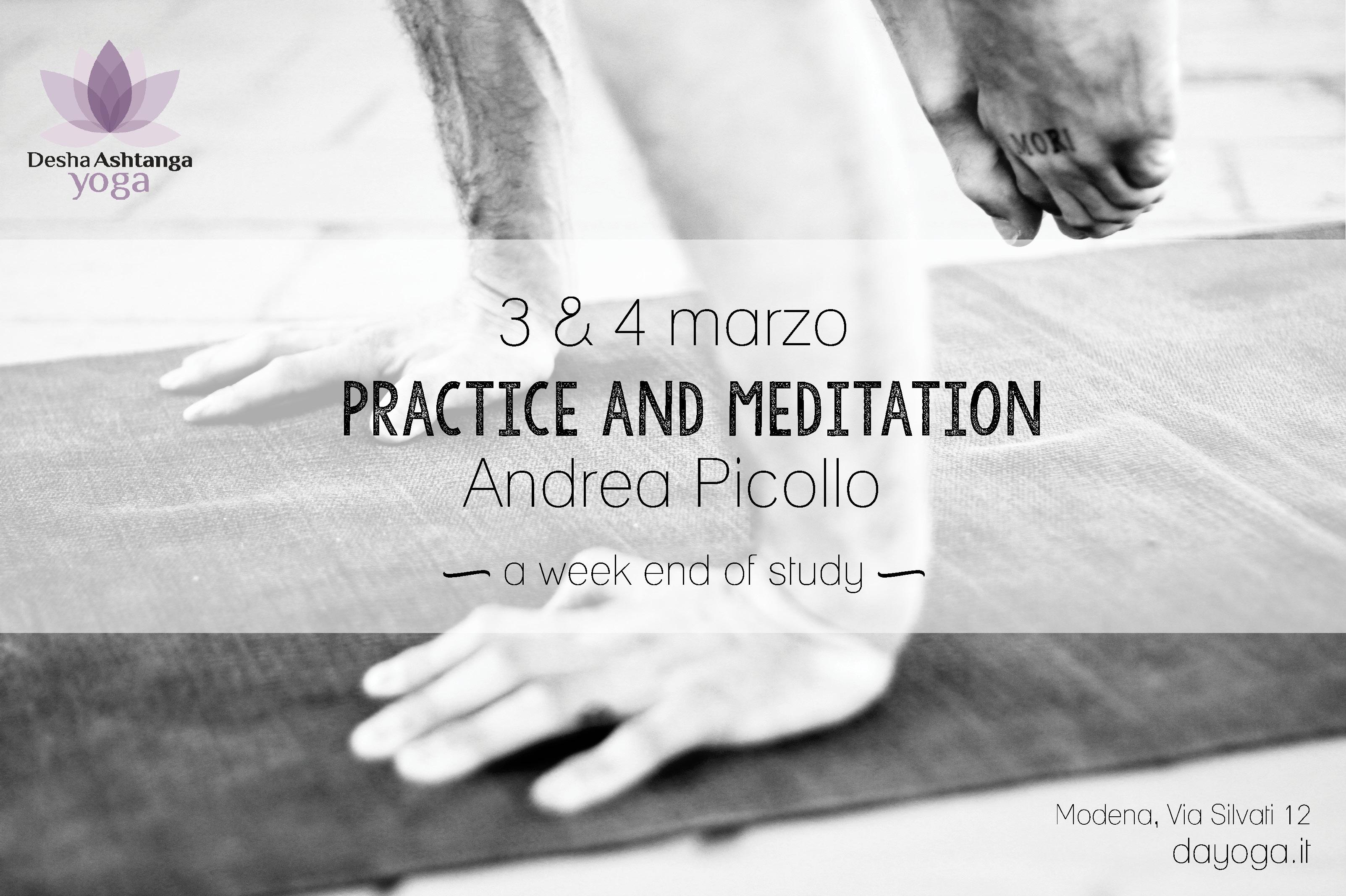 Andrea Picollo Desha Ashtanga Yoga