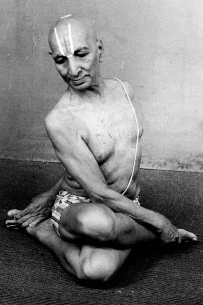 khrisnamacharya asana traditional ashtanga yoga